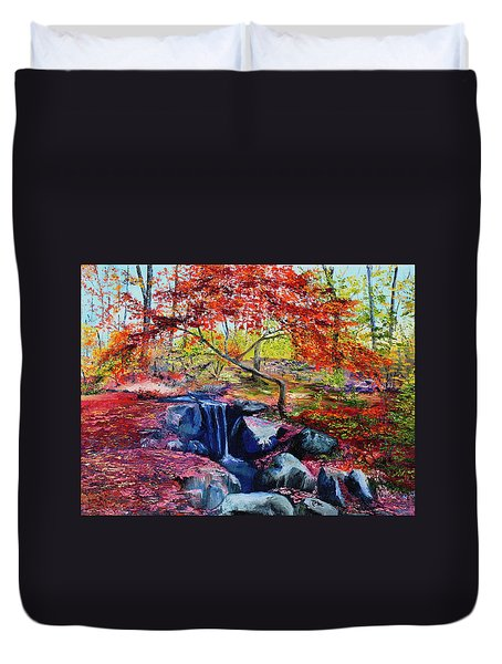 October Riot Duvet Cover