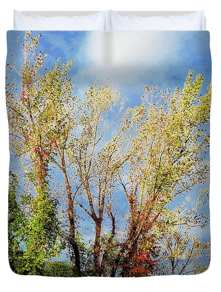 October Sunny Afternoon Duvet Cover