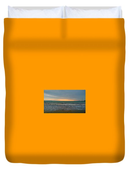October Sunrise Duvet Cover