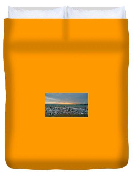 October Sunrise Duvet Cover by Anne Kotan