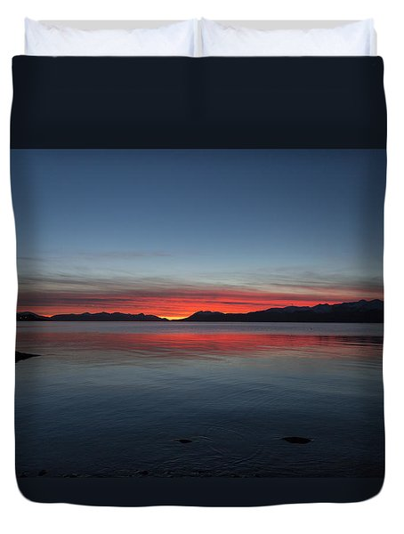 October Sunset II Duvet Cover