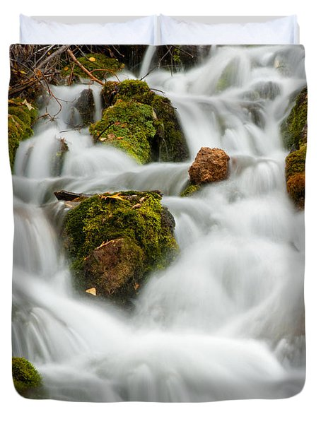 October Waterfall Duvet Cover