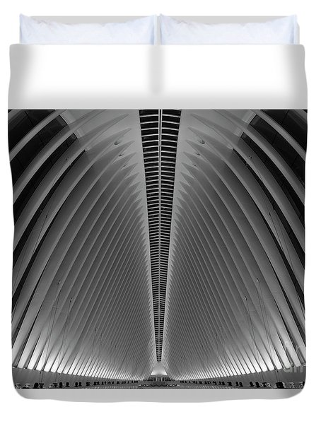 Oculus World Trade Center  Duvet Cover