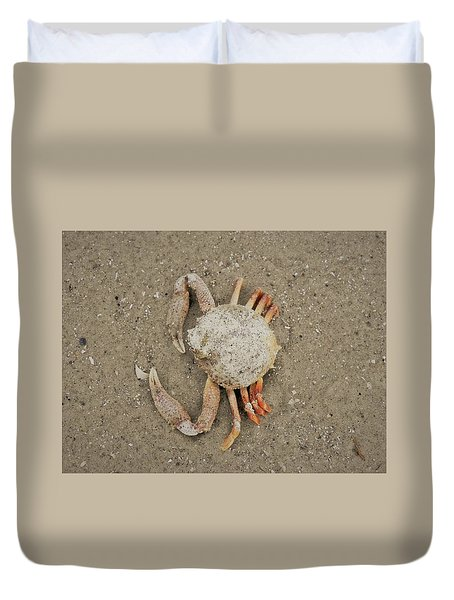 Odd Crab Duvet Cover