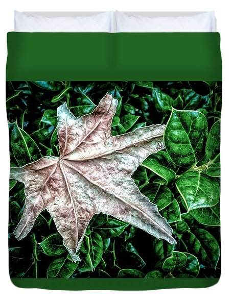 Odd Leaf Duvet Cover