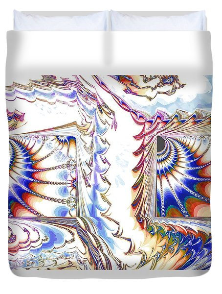 Odds And Ends Duvet Cover