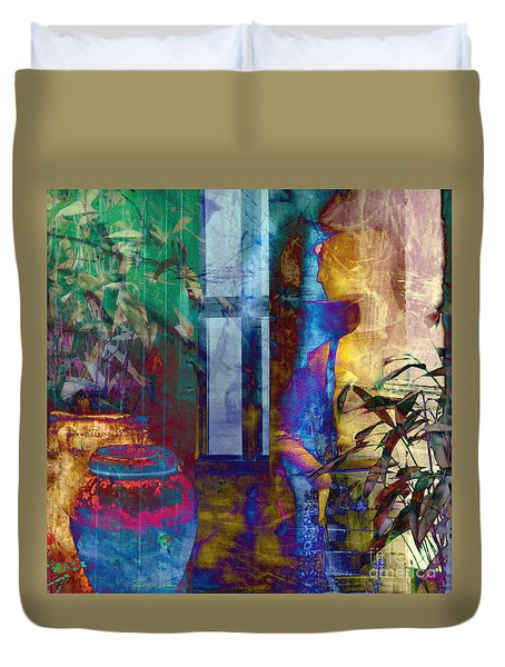 Ode On Another Urn Duvet Cover