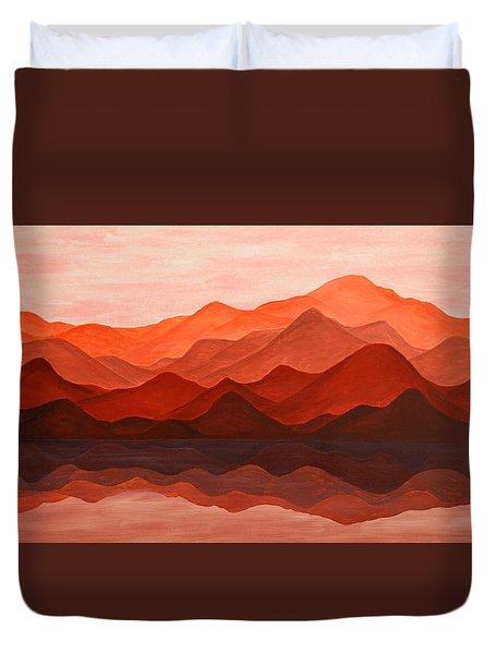 Ode To Silence Duvet Cover