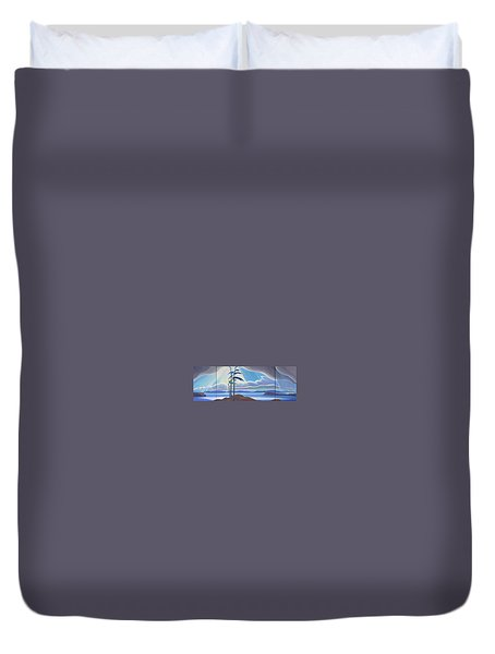 Ode To The North II Duvet Cover