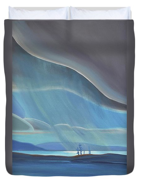 Ode To The North II - Rh Panel Duvet Cover