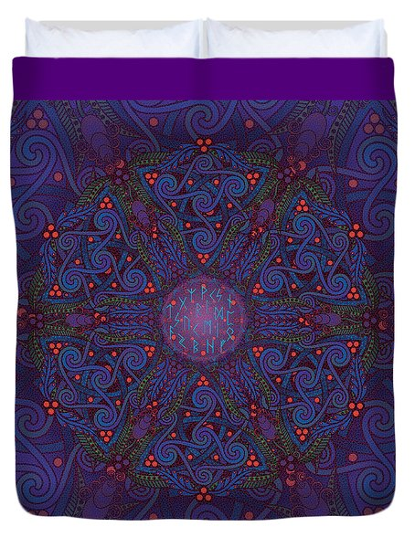 Odin's Dreams Duvet Cover
