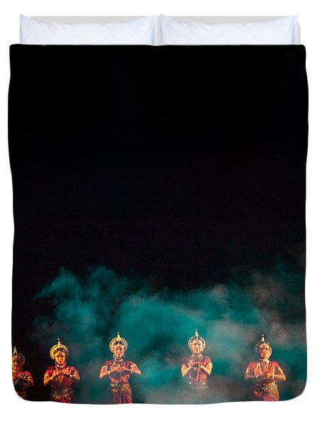 Odissi Princesses Duvet Cover