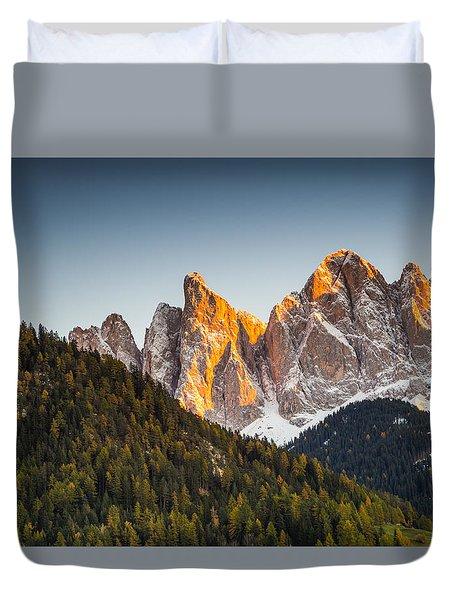 Odle Peaks Duvet Cover