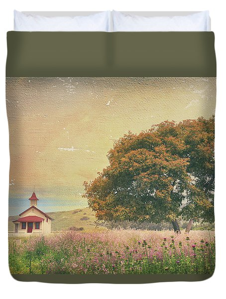 Of Days Gone By Duvet Cover by Laurie Search