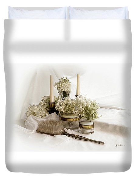 Of Days Past Duvet Cover