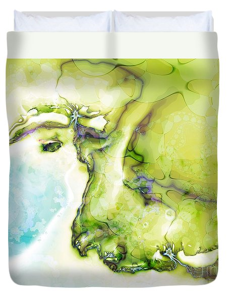 Of Earth And Water Duvet Cover