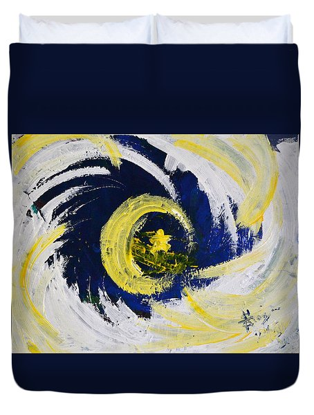 Of Stars And Moons Duvet Cover