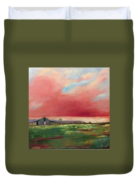 Off Highway 27 Duvet Cover