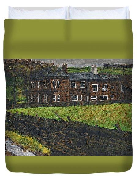 Off Hossock's Lane Duvet Cover