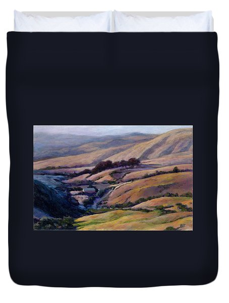 Off Jalama Road Duvet Cover