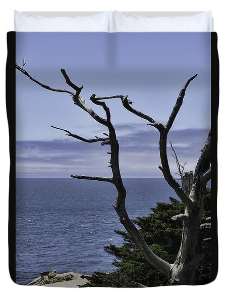 Off Shore Duvet Cover by Judy Wolinsky