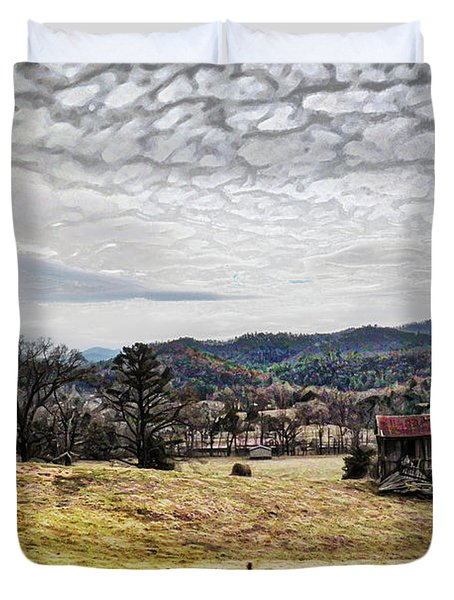 Off The Beaten Path II Duvet Cover