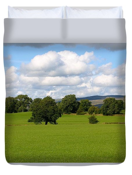 Off The Beaten Track Duvet Cover
