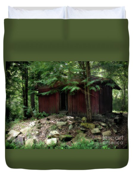 Off The Grid Duvet Cover