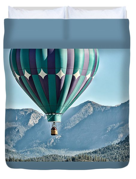 Duvet Cover featuring the photograph Off To See The Wizard... by Kevin Munro