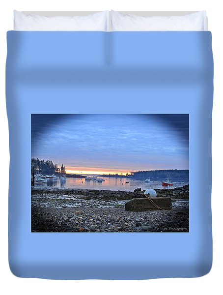 Office Of The Sea Duvet Cover