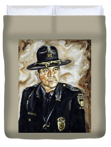 Officer Demaree Duvet Cover
