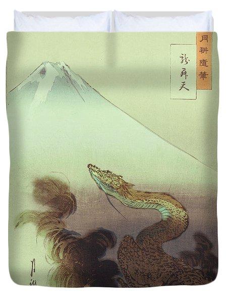 Ogata Gekko Dragon Duvet Cover