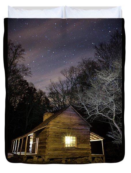 Ogle Cabin Duvet Cover
