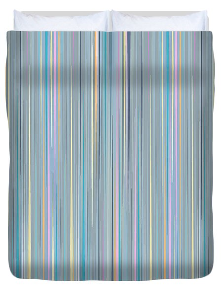 Oh Baby Blue - Stripes Duvet Cover