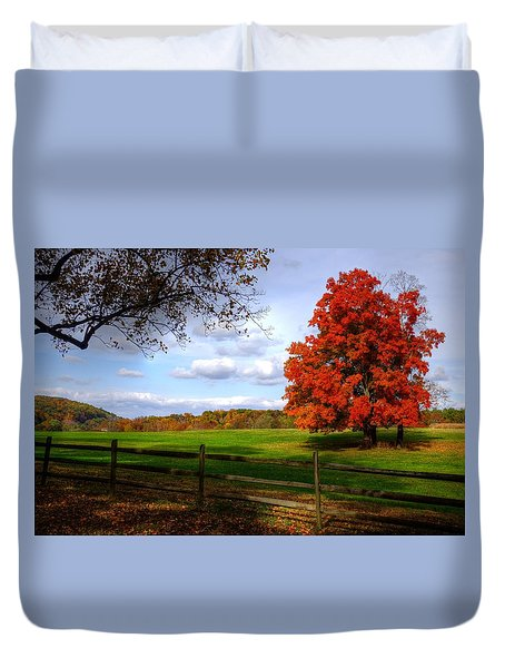 Oh Beautiful Tree Duvet Cover