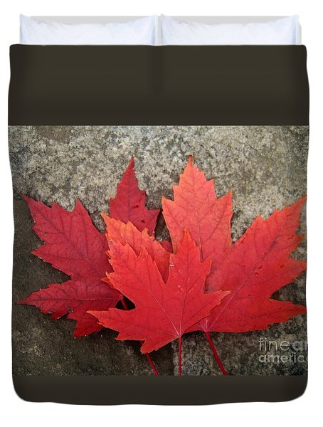 Oh Canada Duvet Cover