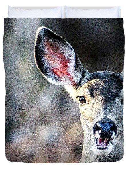 Oh, Deer Duvet Cover