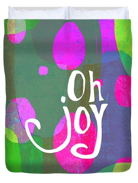 Oh Joy Duvet Cover by Lisa Weedn
