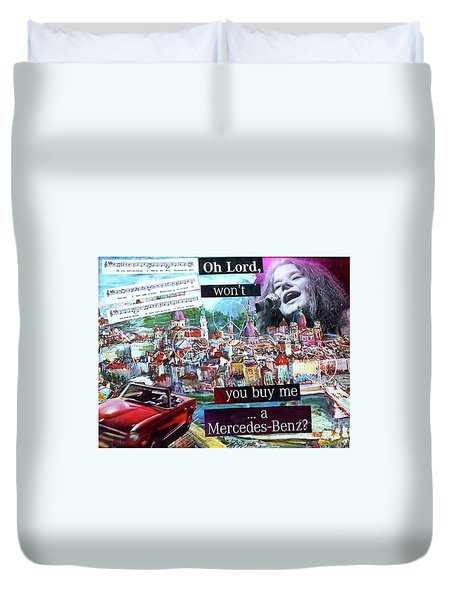 Oh Lord Duvet Cover