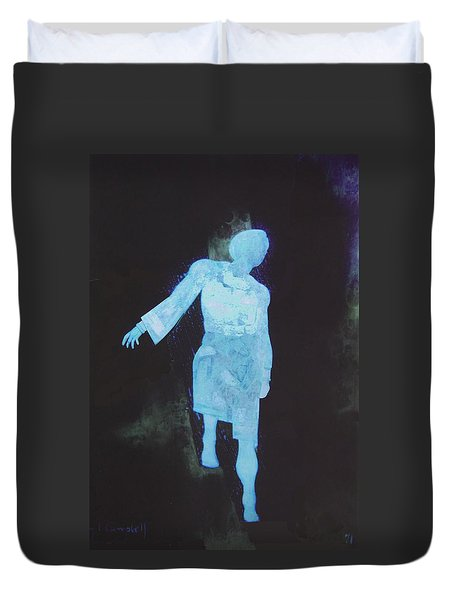 Oh That I Were An Angel  Duvet Cover