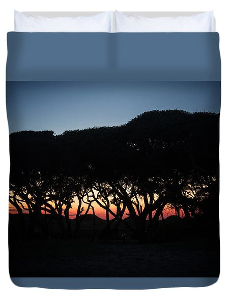 Oh Those Trees Duvet Cover