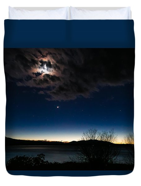 Oh What A Night Duvet Cover