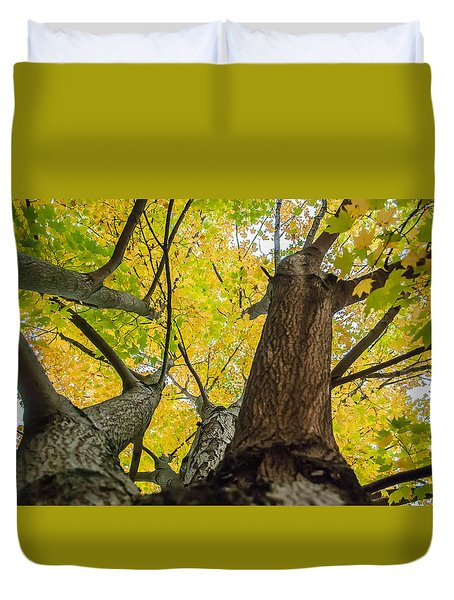 Ohio Pyle Colors - 9687 Duvet Cover by G L Sarti