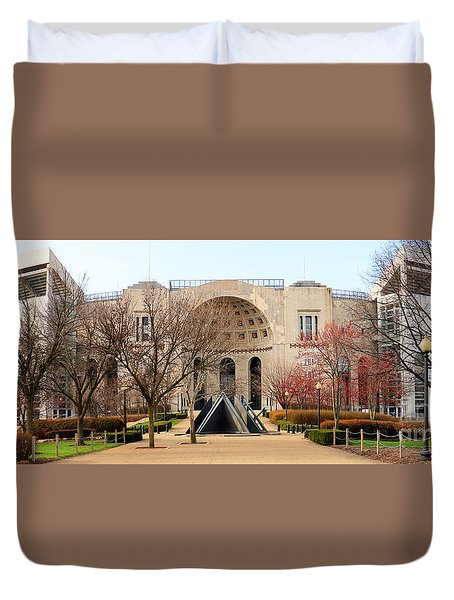 Ohio Stadium Entrance  8955 Duvet Cover