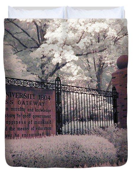 Ohio University Gate Duvet Cover