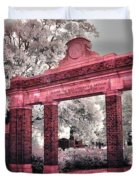 Ohio University Gate To The Green Duvet Cover