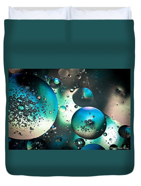 Oil And Water 1 Duvet Cover