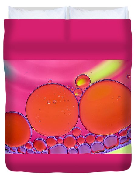 Oil And Water Q Duvet Cover
