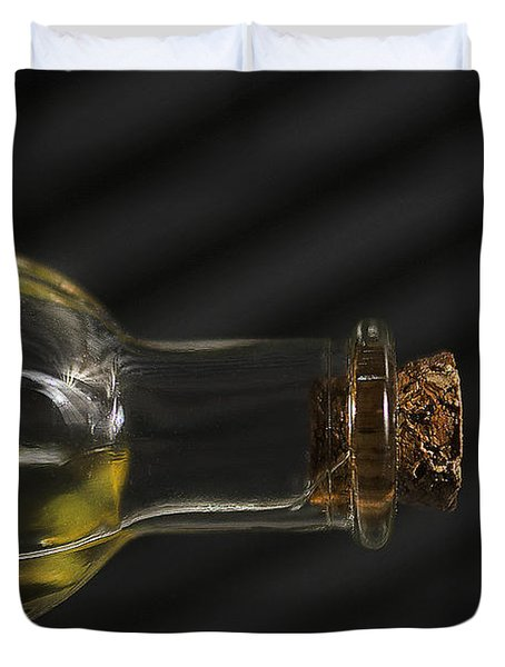 Oil Bottle Cork 1092a Duvet Cover