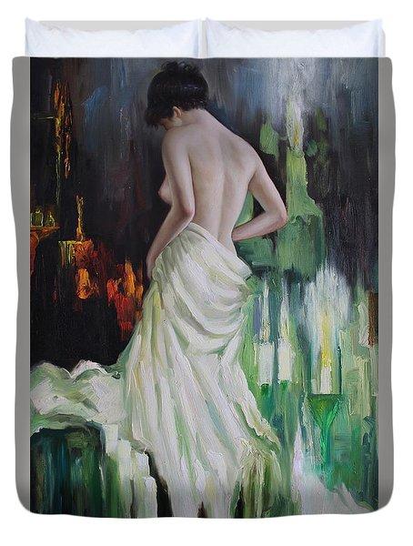 Oil Msc 016 Duvet Cover